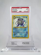 PSA 9 MINT 1st Edition Poliwhirl Shadowless Pokemon 1st Base Set #38/102