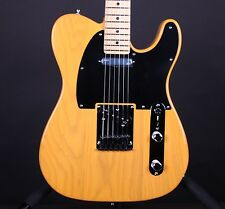 Fender American Deluxe Ash Telecaster Butterscotch w/Case Electric Guitar Tele