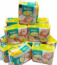 Pampers Swaddlers Baby Diapers Size N Newborn 240 Count (12 Packs of 20 ) NEW