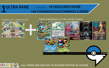 1 Ultra Rare Card + Pokemon 50 Lot Mega Lv X EX  ?Charizard Landorus Lugia MEW?