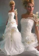 Q74  Abiti da Sposa vestito nozze sera wedding evening dress