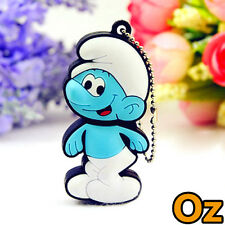 Smurfs USB Stick, 16GB The Smurfs Quality USB Flash Drives WeirdLand