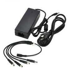 Amview AC/DC US Power Adapter 12V 3 Amp 1 to 4 Power Splitter Security Camera