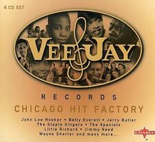 The Vee Jay Box Set-Chicago Hit Factory -4Cd- CD NEW