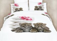 Bedding for Girls Room, Cute 4 Piece Twin XL Set 100% Egyptian Cotton DM486T