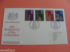 Queen Elizabeth II Silver Jubilee Coronation FDC First Day of Issue 1978 UK