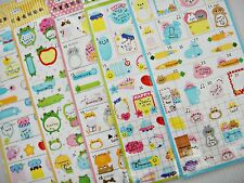 5 set Highlight Diary Schedule Calendar Reminder Planner Deco Scapbook Stickers