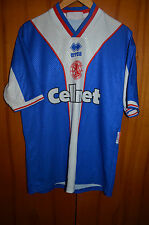 MIDDLESBROUGH 1997/1998 AWAY FOOTBALL SHIRT JERSEY ERREA ENGLAND GASCOIGNE ERA