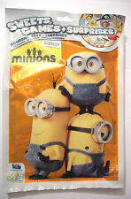 MINIONS SWEETS GAMES & SURPRISES sac lolly candy collection autocollants cadeau pack
