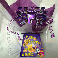 CADBURY DAIRY MILK SWEET CHOCOLATE BOUQUET HAMPER (GREAT EASTER GIFT).