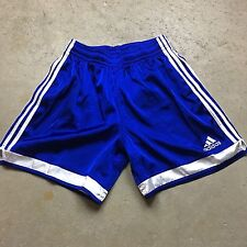 VTG 90s ADIDAS CLIMALITE Soccer RUNNING Shorts L GLANZ Unlined SHINY Clima Lite