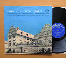 SUB 10065 Famous Orchestral Works Berlioz Beethoven etc NM/EX Supraphon Mono