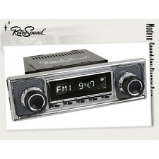 BMW 1802 2002 1602  Oldtimer Auto Radio Becker Retro Optik Design FM UKW AUX In