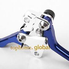 Blue CNC Pivot Brake Clutch Levers For Yamaha YZ250 YZ250F 2001-2006 02 03 04 05