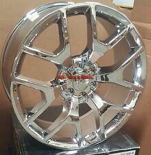 20 Sierra Replica Rims Chrome Wheels GMC Yukon Escalade Denali Silverado Tahoe