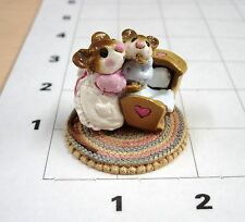 R3C3, M-069 Beddy-Bye Mousey,  One (1) Wee Forest Folk from the Collection