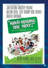 WHO'S MINDING THE MINT ? (1967 Jim Hutton) -  Region Free DVD - Sealed