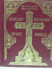 Douay Rheims Clementina Vulgata Holy Bible in English