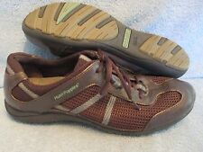 Womens Shoes HUSH PUPPIES Size 8 1/2 BROWN ATHLETIC OXFORDS LN