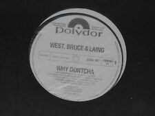 WEST, BRUCE, & LAING -Why Dontcha- LP PROMO
