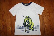 NWT Gymboree Monstro-Politan Size 6 Ape on Scooter Shirt Top