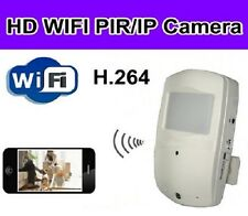 Wi-Fi PIR Spy Motion Detection Camera with Night Vision and 32GB SD Card