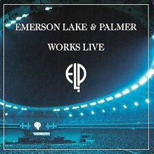 Works Live by Emerson, Lake & Palmer (CD,  1996,  Rhino  MISSING DISC TWO