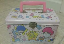 Sanrio Vintage 1988 Little Twin Stars Metal Lunch box