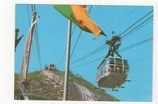 Brazil Rio De Janeiro Bondinho Novo do Pao de Acucar Postcard 782a