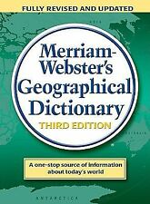 Merriam Webster - Geographical Dictionary 3e (1997) - Used - Trade Cloth (H