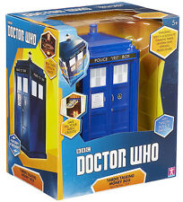 "DOCTOR WHO - 8"" Tardis Talking Money Box (Character Group) #NEW"