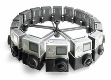 360° Modular Spherical VR Panorama Rig like Google Jump / Odyssey f. 16x GoPro