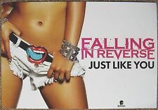 FALLING IN REVERSE Album POSTER Just Like You 2-Sided 13x19
