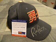 Rick Barry Signed Golden State Warriors Chinese New Year Cap (PSA/DNA AA57848)