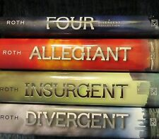 SIGNED BY VERONICA ROTH*DIVERGENT+INSURGENT+ALLEGIANT+ FOUR* +PICS+ XTRAS!!!
