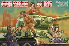 Orion 1/72 Soviet Tankmen and Crew WWII # 72042