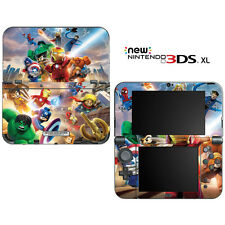Super Heroes for New Nintendo 3DS XL Skin Decal Cover