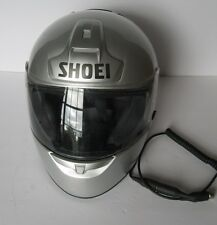 SHOEI RF-900 METALIC GRAY DOT SNELL CERTIFIDE FULLFACE MOTORCYCLE HELMET, LARGE
