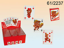 Kama Sutra Playing Cards Cartoon Valentines Hen Stag Party Naughty Gift- 61/2237