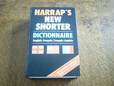 harrap's new shorter dictionnaire anglais-francais