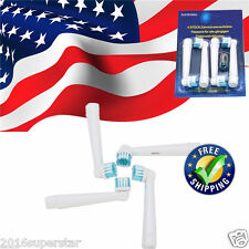 US SHIP Electric Tooth brush Heads Replacement for Braun Oral B FLOSS ACTION