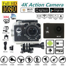 "Waterproof 4K Ultra HD SJ8000R Wifi Sport Action Camera 2.0"" 1080P DVR Camcorder"