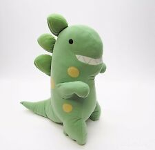 Kohl's Jumping Beans Green T-Rex Dinosaur Plush Dino Lovey Pillow Roar Sound 15""