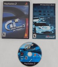 Gran Turismo 3 A-Spec COMPLETE (Sony Playstation 2, 2002) PS2 Black Label GAME