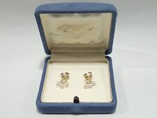 MIKIMOTO 18k gold akoya pearl earrings
