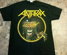ANTHRAX 2014 TOUR SHIRT MINT LARGE MONTREAL QUEBEC NEVER WORN SLAYER METALLICA