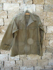 French Tropical Jacket Armee Jacke Work Coat Vintage Heritage Cotton Blouson