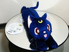 New Sailor Moon Crystal Stuffed Animal Plush Cat Luna Pencil Pen Pouch Bandai