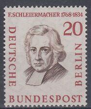 Germany Berlin 1957 ** Mi.167 Persönlichkeiten Personalites | Schleiermacher