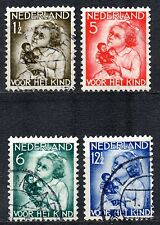 Netherlands - 1934 Child welfare Mi. 277-80 Superb used